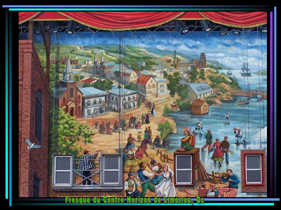 Fresque du Saguenay