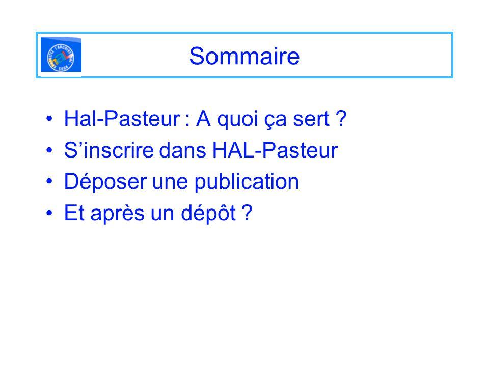 Visualisation dune notice Hal-Pasteur