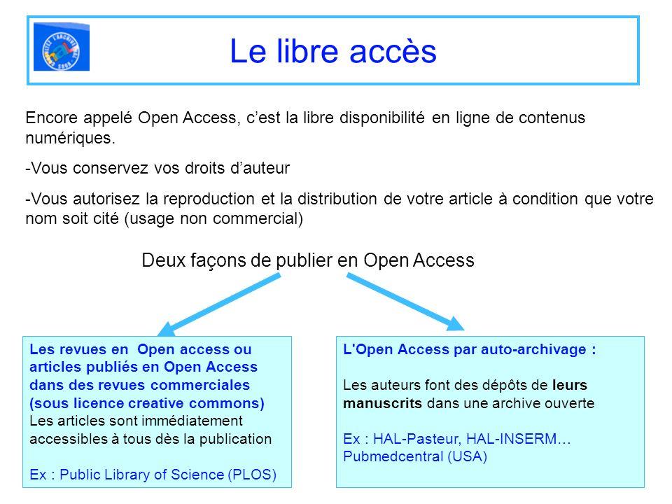 Linterface HAL-Pasteur (1) Nous contacter, vous informer. Menus daccès aux fonctions.