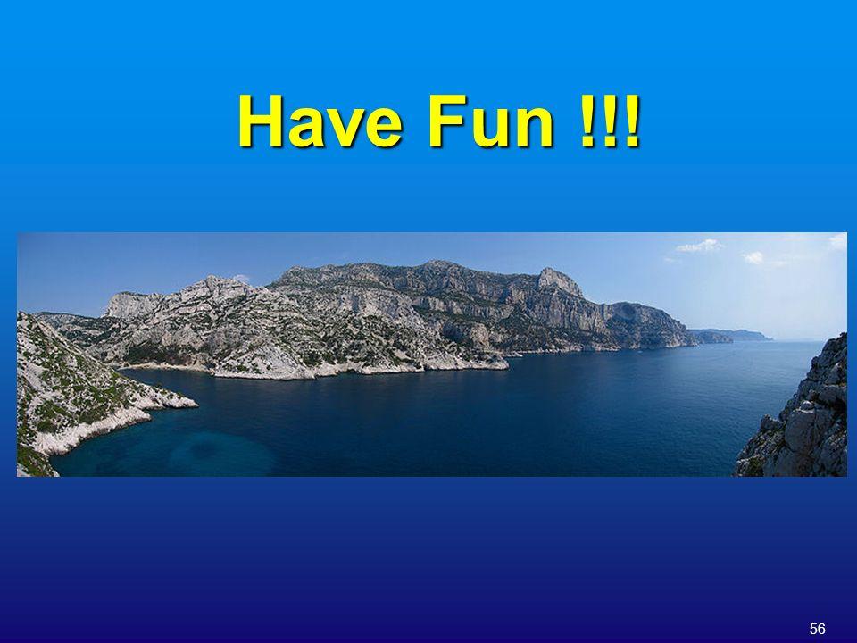 56 Have Fun !!!