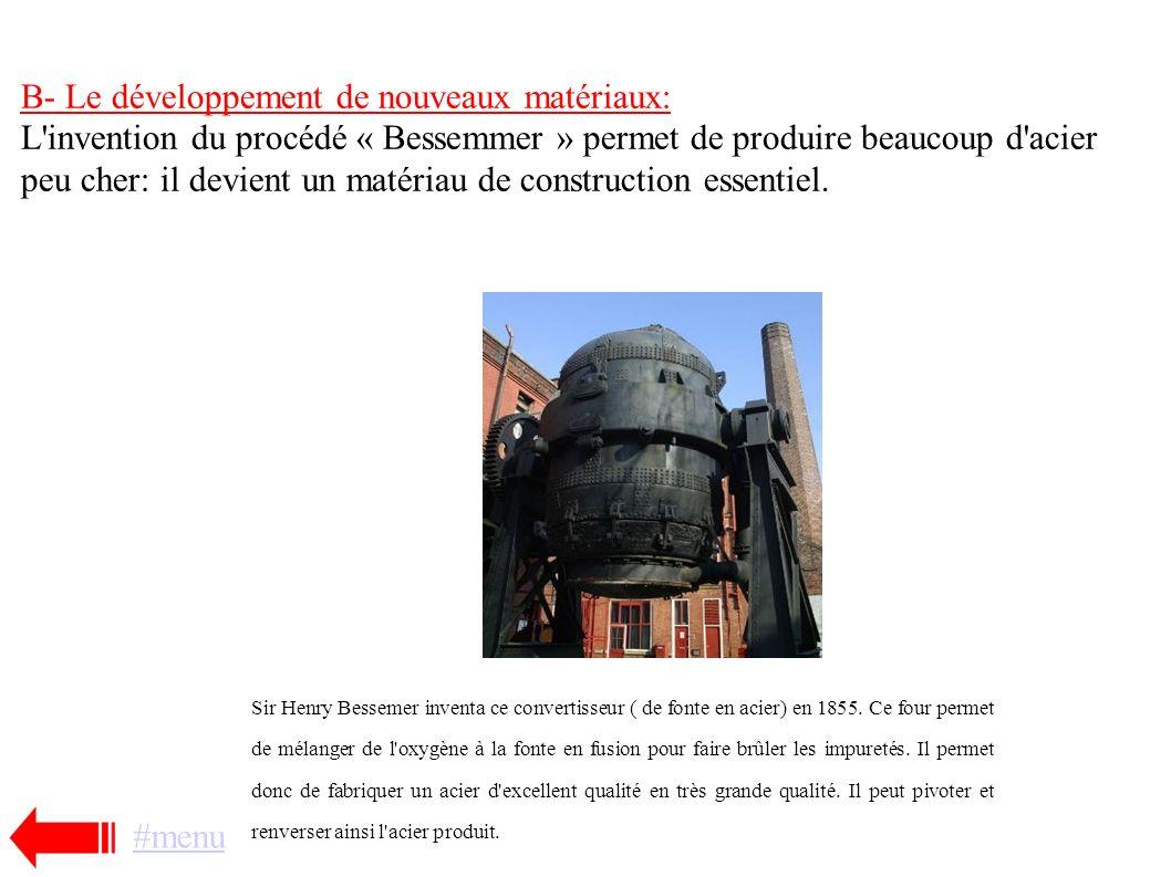 Cours: 1- Les bases de la révolution industrielle: les innovations technologiques! A- La machine à vapeur révolutionne l'industrie L'Anglais James Wat