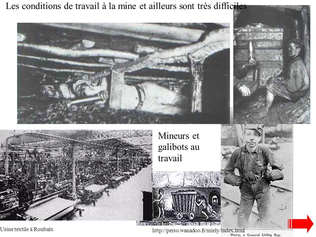 L'Europe s'urbanise et les ouvriers sont regroupés autour des usines: - dans les corons autour des puits de mine Courée à Roubaix vers 1950 http://ass