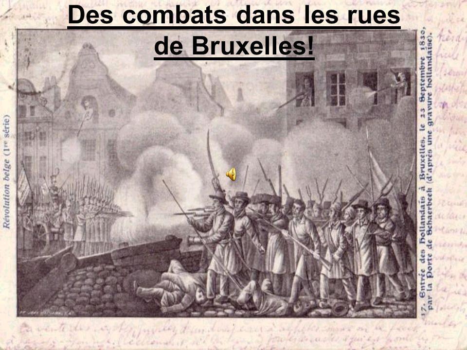 Larmée hollandaise à Bruxelles!!!