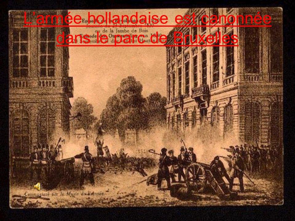 Rue de Schaerbeek!(23 septembre 1830)