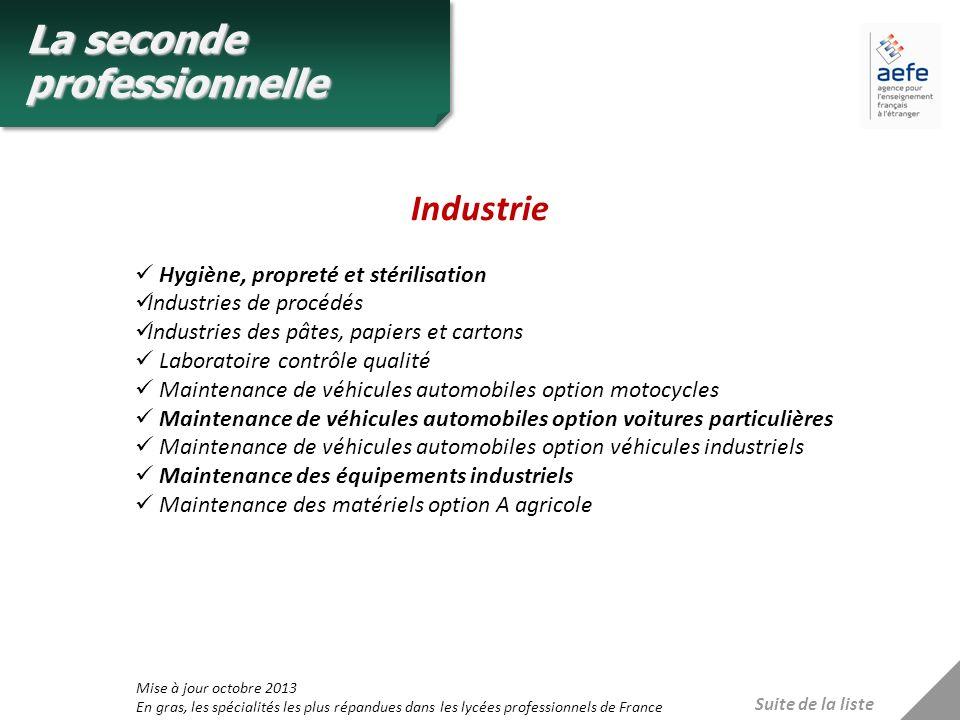 Industrie Hygiène, propreté et stérilisation Industries de procédés Industries des pâtes, papiers et cartons Laboratoire contrôle qualité Maintenance