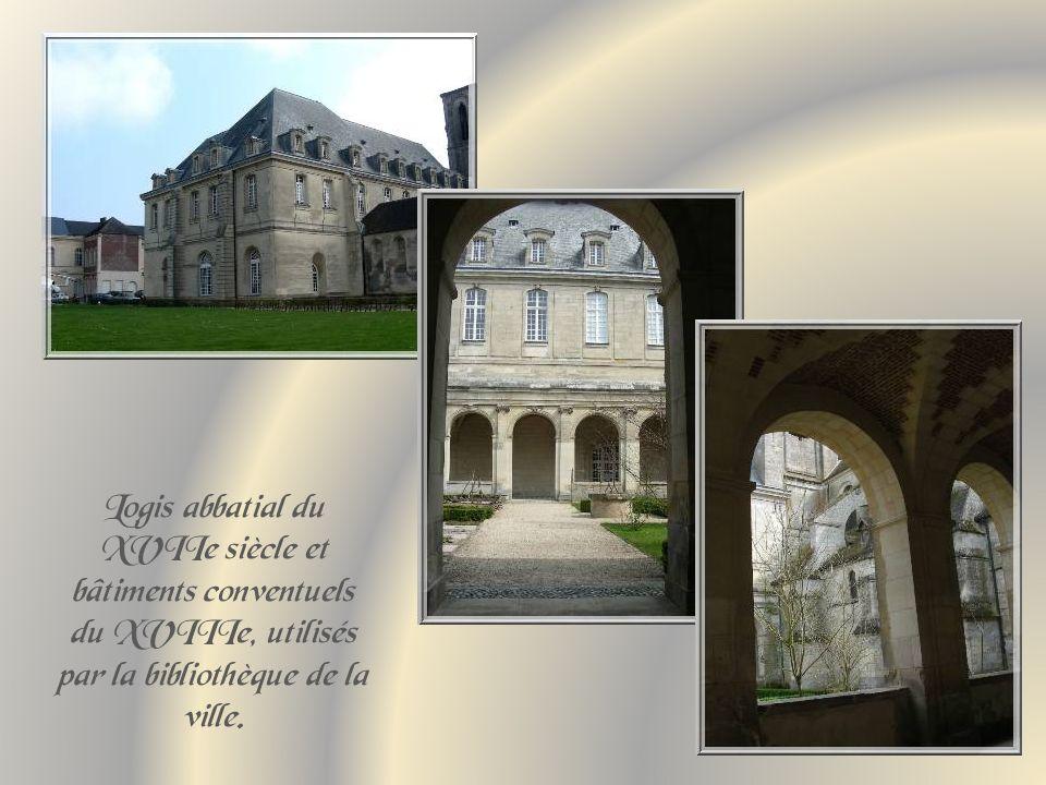 Léglise abbatiale Saint-Martin