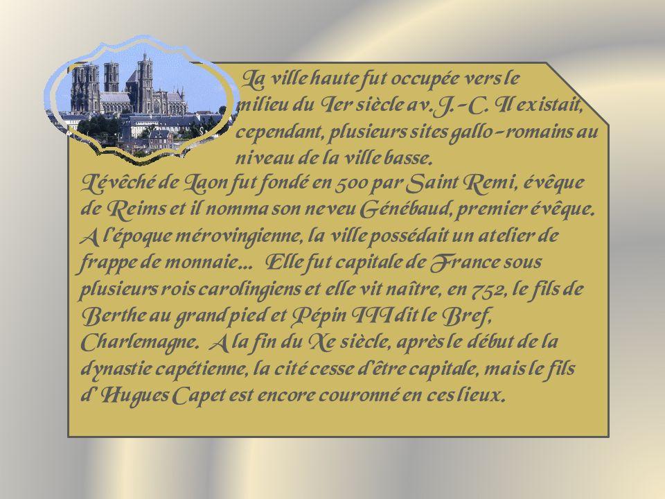 La ville haute fut occupée vers le milieu du Ier siècle av.J.-C.