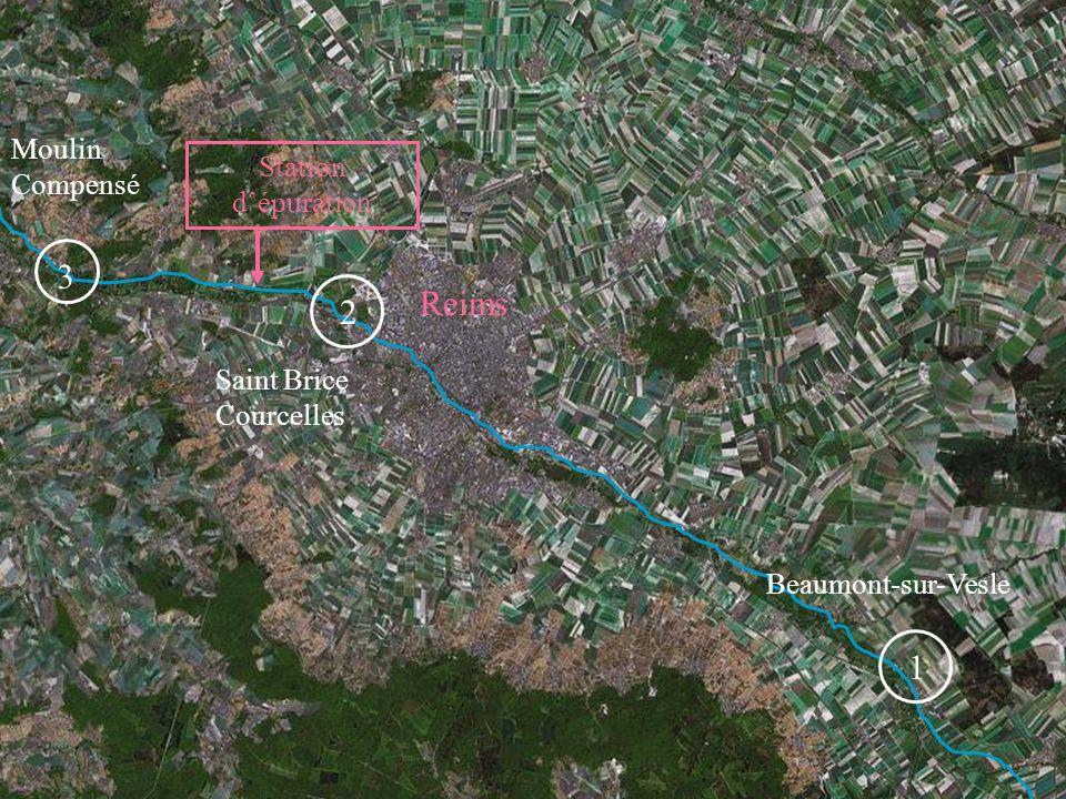 17 Saint Brice Courcelles Beaumont-sur-Vesle Moulin Compensé Reims 2 1 3 Station dépuration
