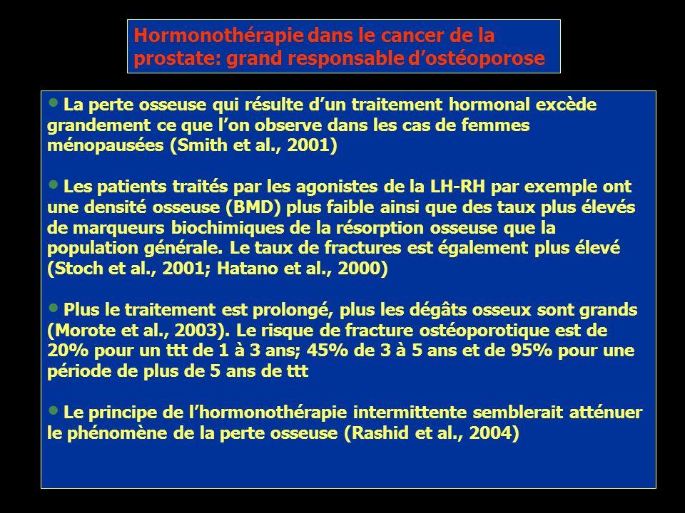 Cancer de la prostate et intégrité osseuse Les os constituent notre charpente et la structure de notre corps Interviennent dans lhoméostasie minérale