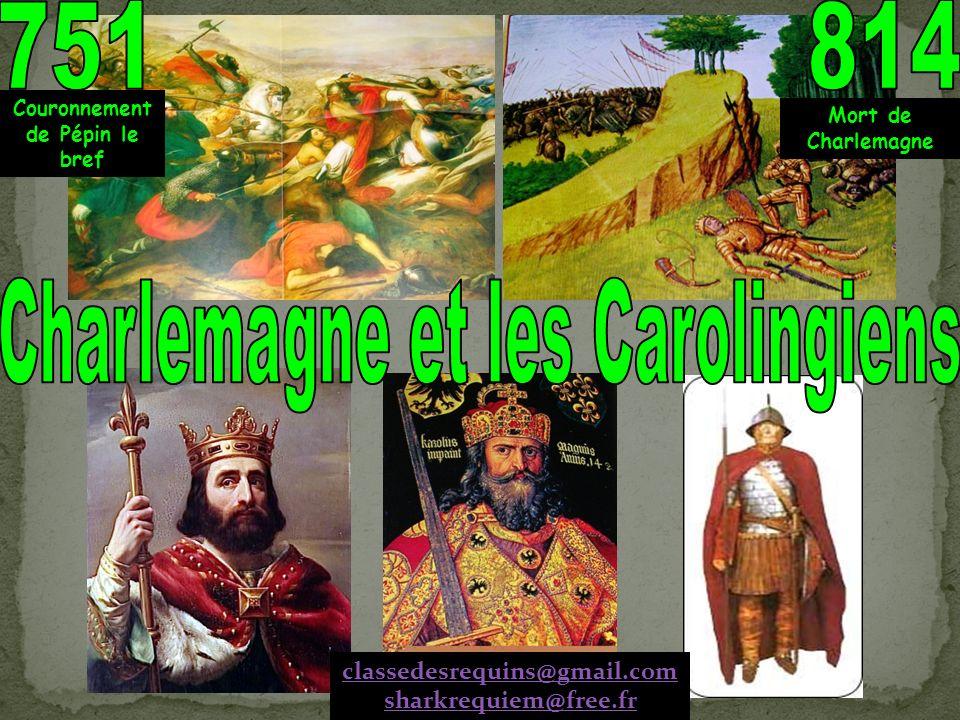 Nom : Prénom : Date : 1°) Qui est le premier des Carolingiens .