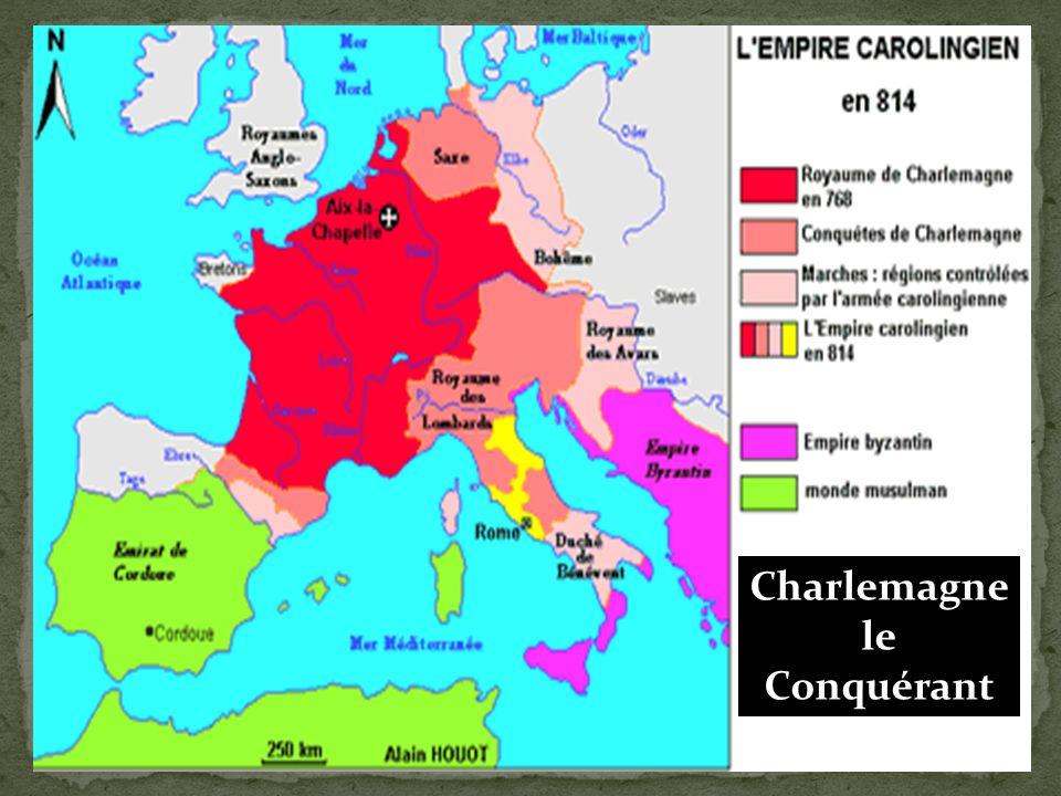 Aix-La-Chapelle devient sa Capitale