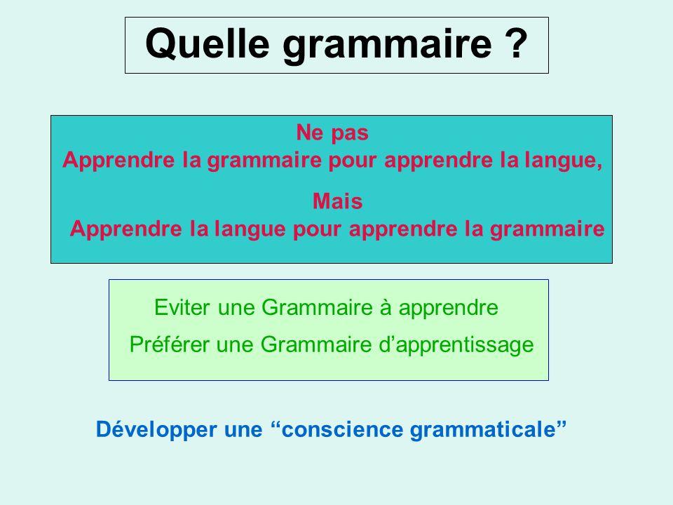 léveil au langage (4) (« language awareness » ou LA) 4-enfin, être sensible à quelques principes généraux de la linguistique: (i)la langue en tant que