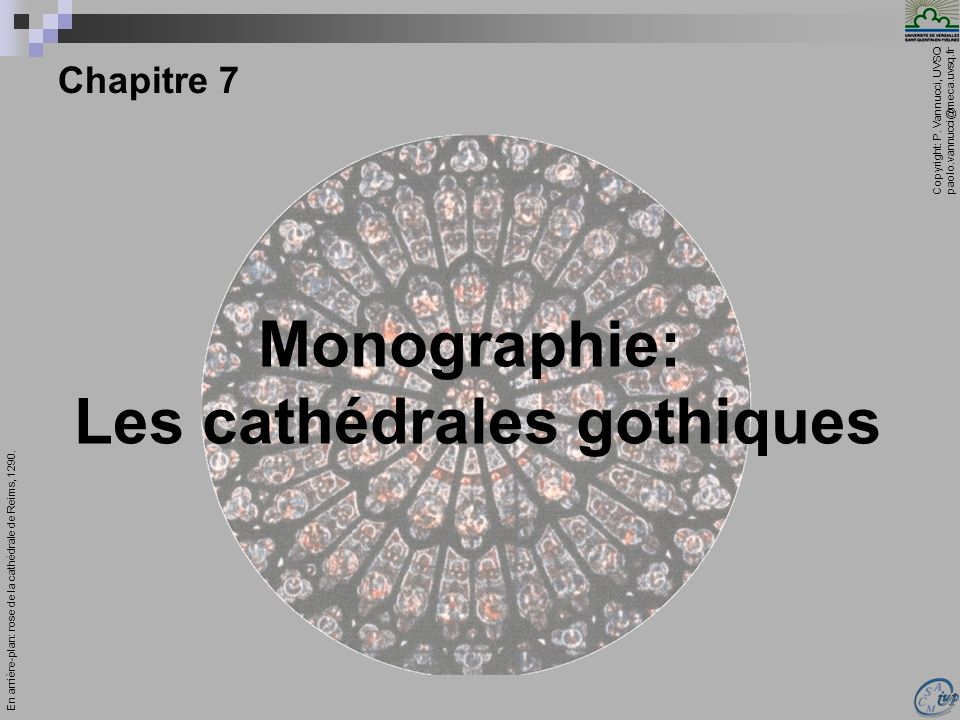 Copyright: P. Vannucci, UVSQ paolo.vannucci@meca.uvsq.fr ________________________________ Mécanique – Chapitre 7 1 Chapitre 7 En arrière-plan: rose de