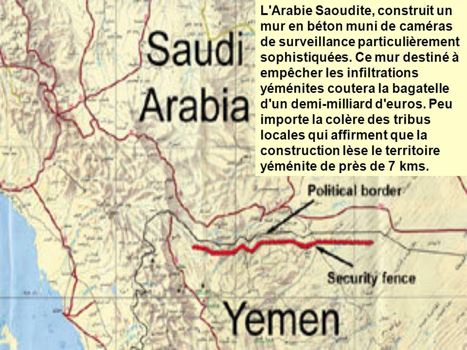 L Arabie Saoudite met également en place une barrière ultra- moderne sur les 900 km de frontière commune avec l Irak