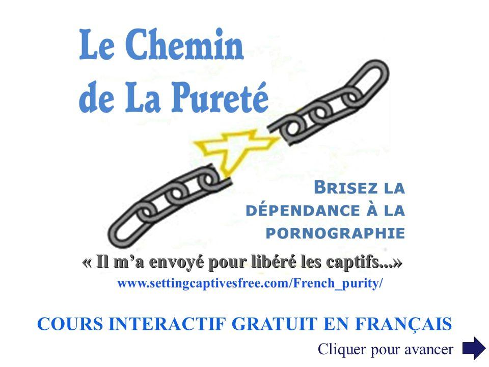 COURS INTERACTIF GRATUIT EN FRANÇAIS Cliquer pour avancer