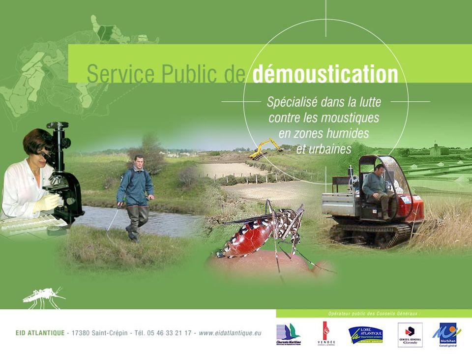 PAGE 2 Lhistoire de la démoustication Atlantique débute à la fin des années 60 en Charente-Maritime.