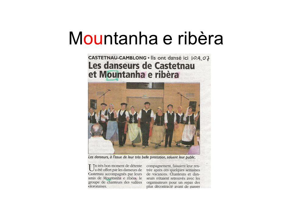 Mountanha e ribèra