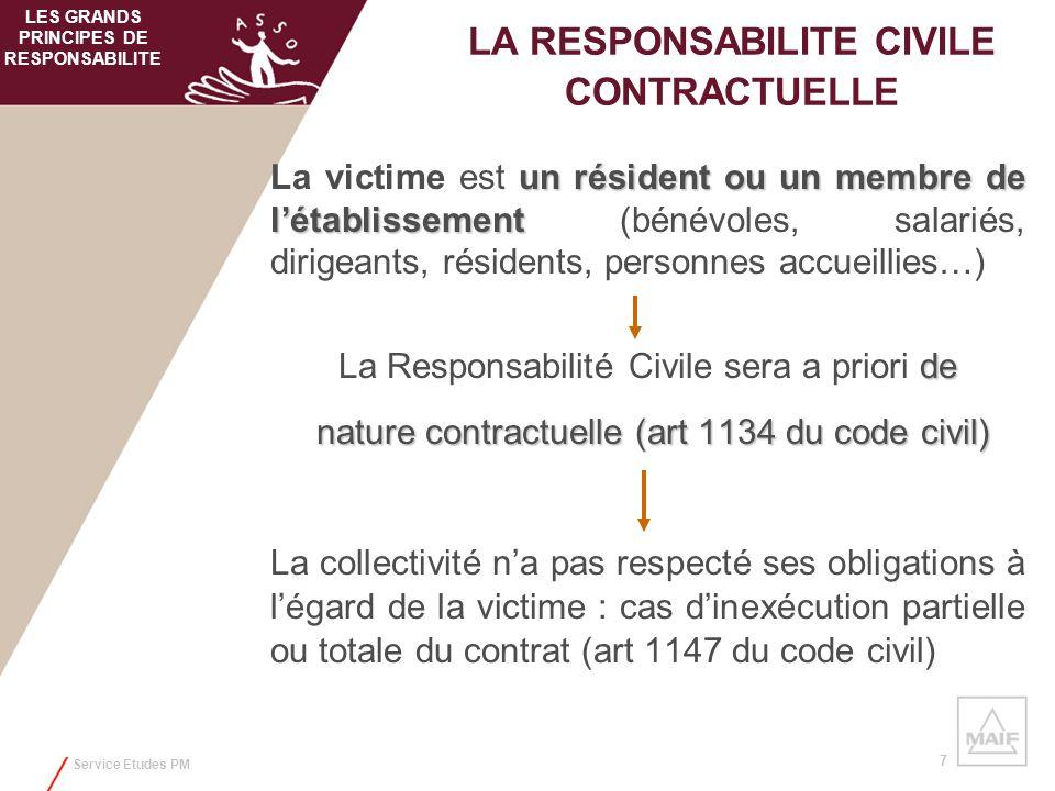 Service Etudes PM 7 un résident ou un membre de létablissement La victime est un résident ou un membre de létablissement (bénévoles, salariés, dirigea
