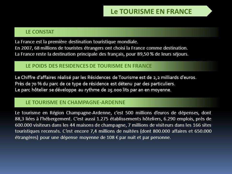 Le TOURISME EN FRANCE La France est la première destination touristique mondiale.