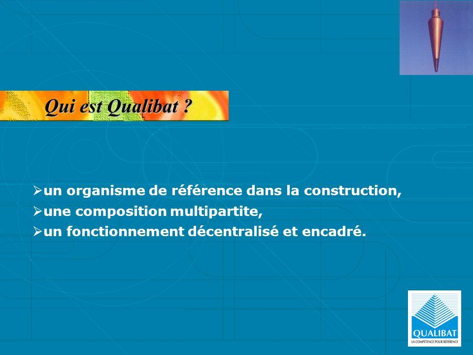 Qui est Qualibat ? un organisme de référence dans la construction, une composition multipartite, un fonctionnement décentralisé et encadré.