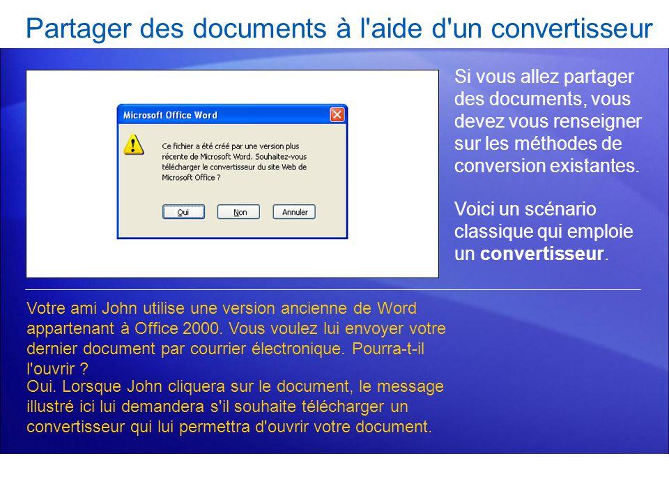 Partager des documents à l'aide d'un convertisseur Si vous allez partager des documents, vous devez vous renseigner sur les méthodes de conversion exi