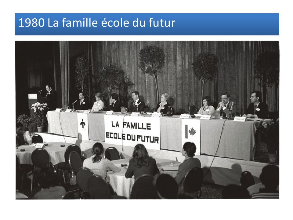 1980 La famille école du futur