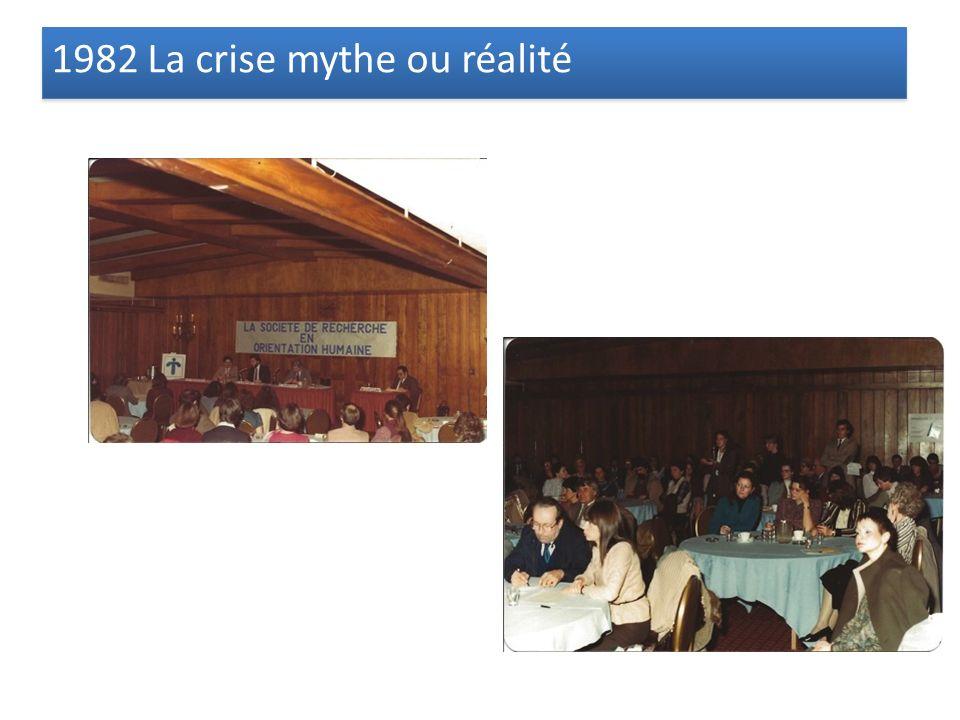 1982 La crise mythe ou réalité
