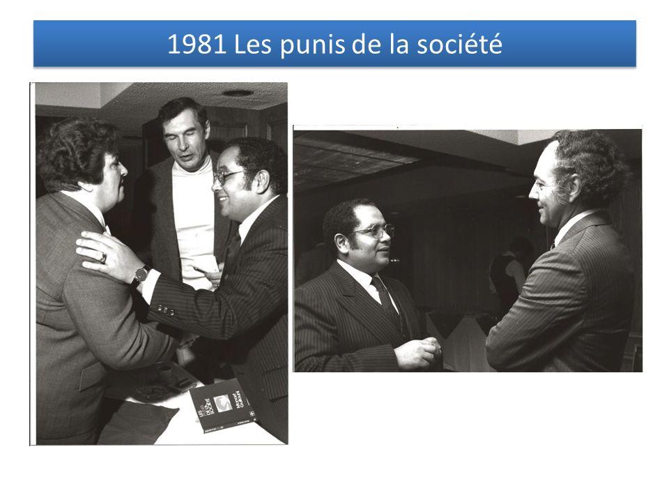 1981 Les punis de la société
