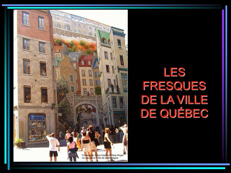 Fresque du Centre Horizon de Limoilou à Québec
