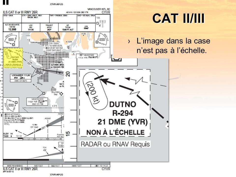 CAT II/III Limage dans la case nest pas à léchelle.