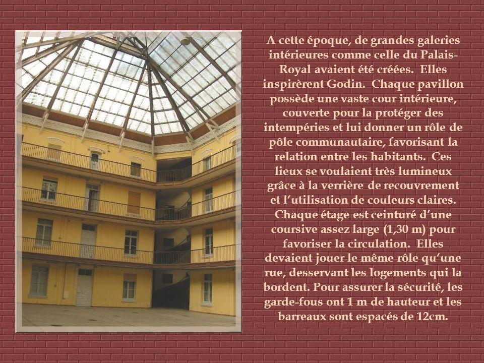 A cette époque, de grandes galeries intérieures comme celle du Palais- Royal avaient été créées.