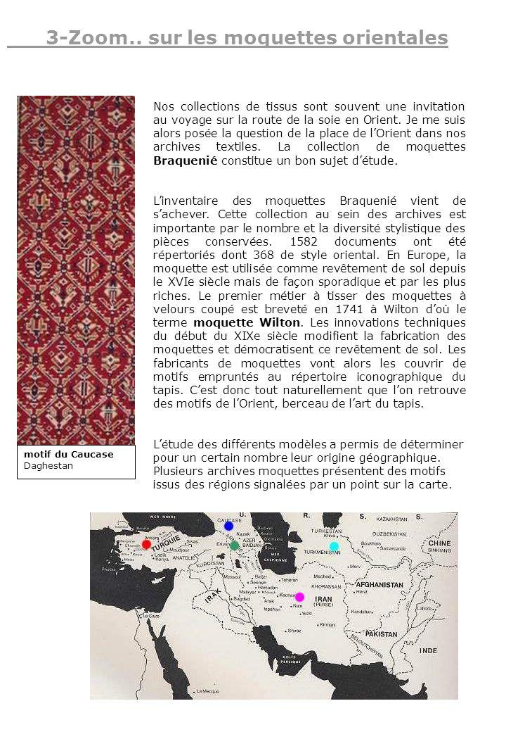 Nos collections de tissus sont souvent une invitation au voyage sur la route de la soie en Orient. Je me suis alors posée la question de la place de l