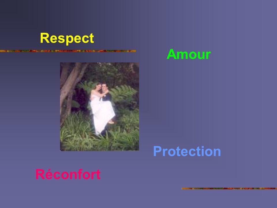 Respect Réconfort Protection Amour