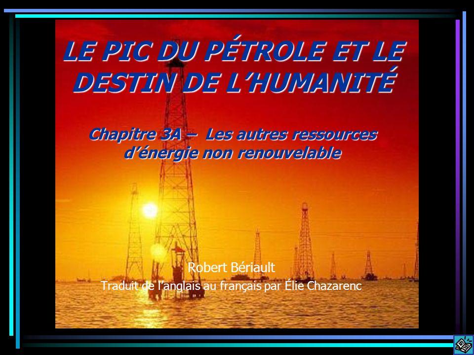 Pour contrer le déclin en gaz naturel qui sest déjà amorcé en Amérique du Nord: On construit des débarcadères de GNL (gaz naturel liquéfié) le long des côtes pour recevoir les ressources de la Russie, --une mesure temporaire qui verra sa fin lorsque la Russie atteindra son pic aussi.