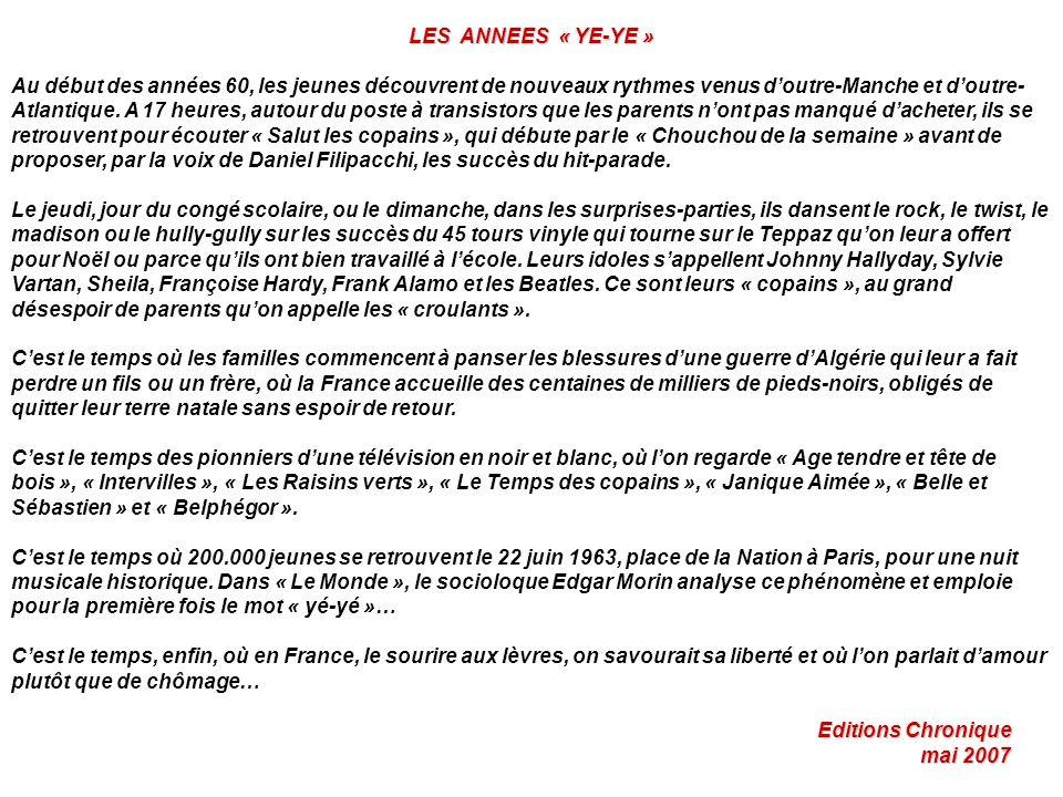 BELLES DES ANNEES 60 Mes Belles à moi….