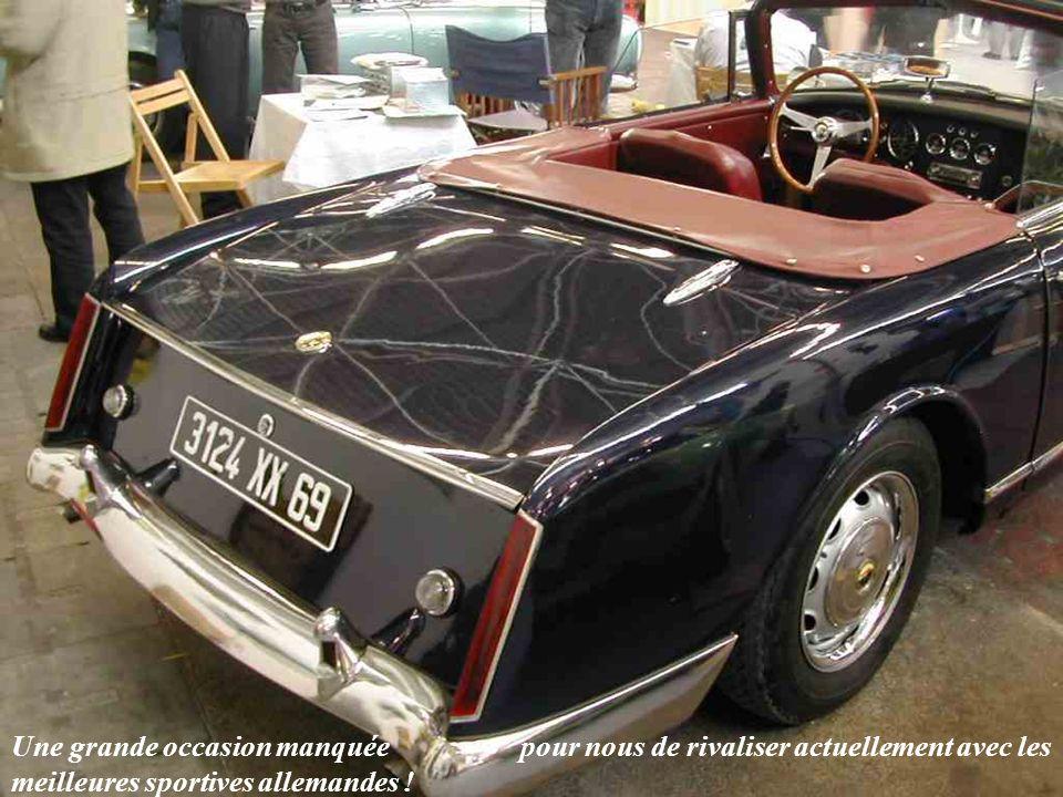 FACEL « Facellia » modèle F2 équipé dun moteur Volvo de 1600 cm3.