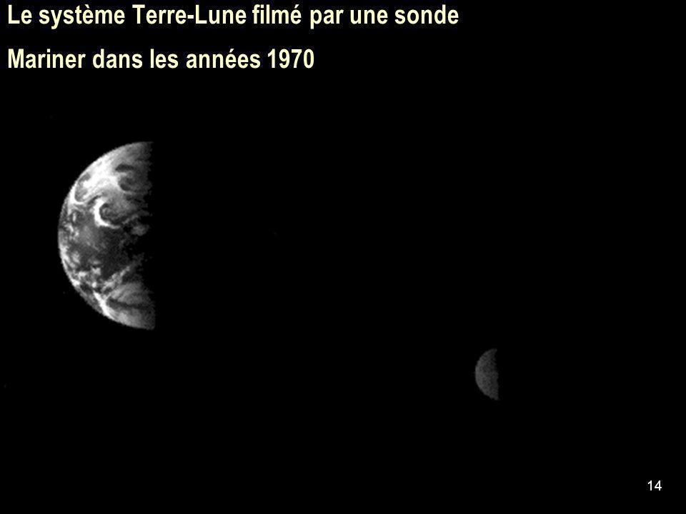 14 Le système Terre-Lune filmé par une sonde Mariner dans les années 1970