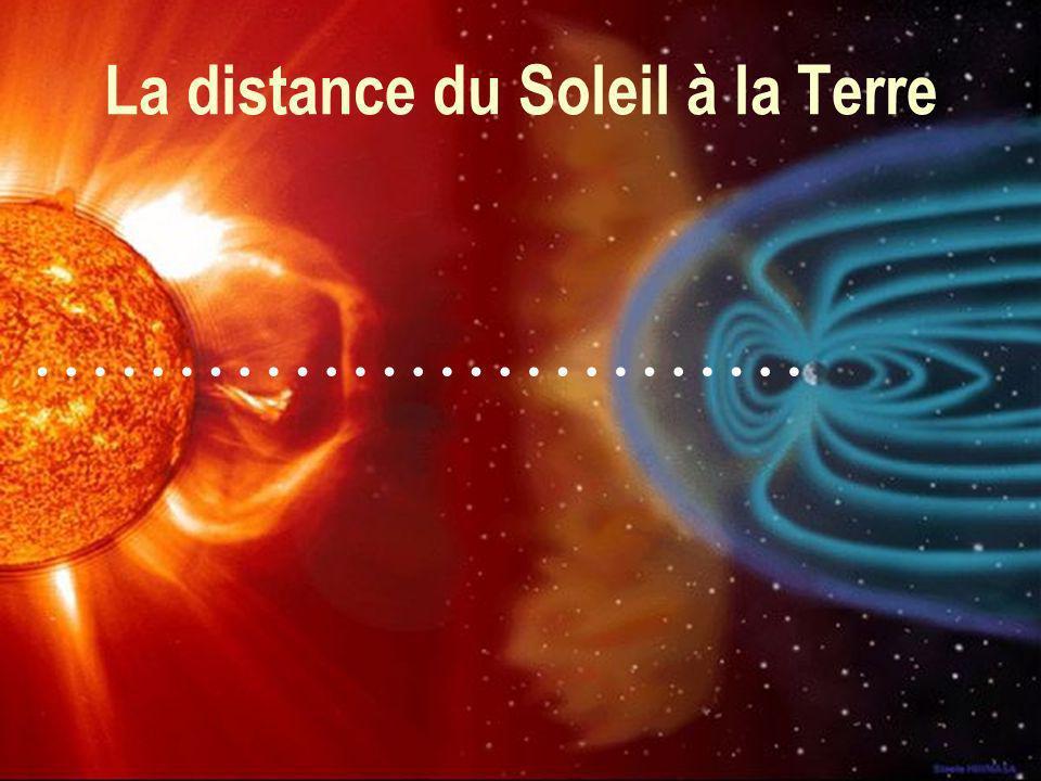 19 La distance du Soleil à la Terre ………………………