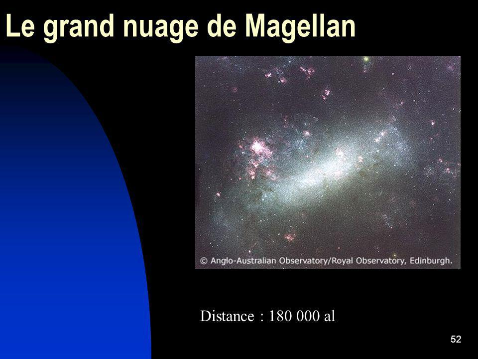 52 Le grand nuage de Magellan Distance : 180 000 al