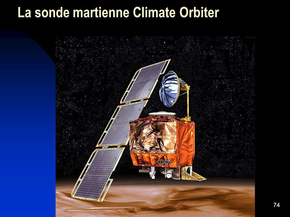 74 La sonde martienne Climate Orbiter
