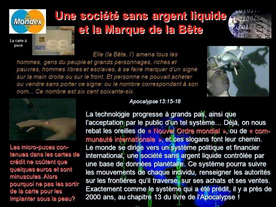 Limage de la Bête Limage de la Bête « Limage de la Bête », que la Bible appelle aussi « Labominable profanation », sera sans doute un super-ordinateur de très haute technologie lié au réseau des télécommunications du Nouvel Ordre mondial.