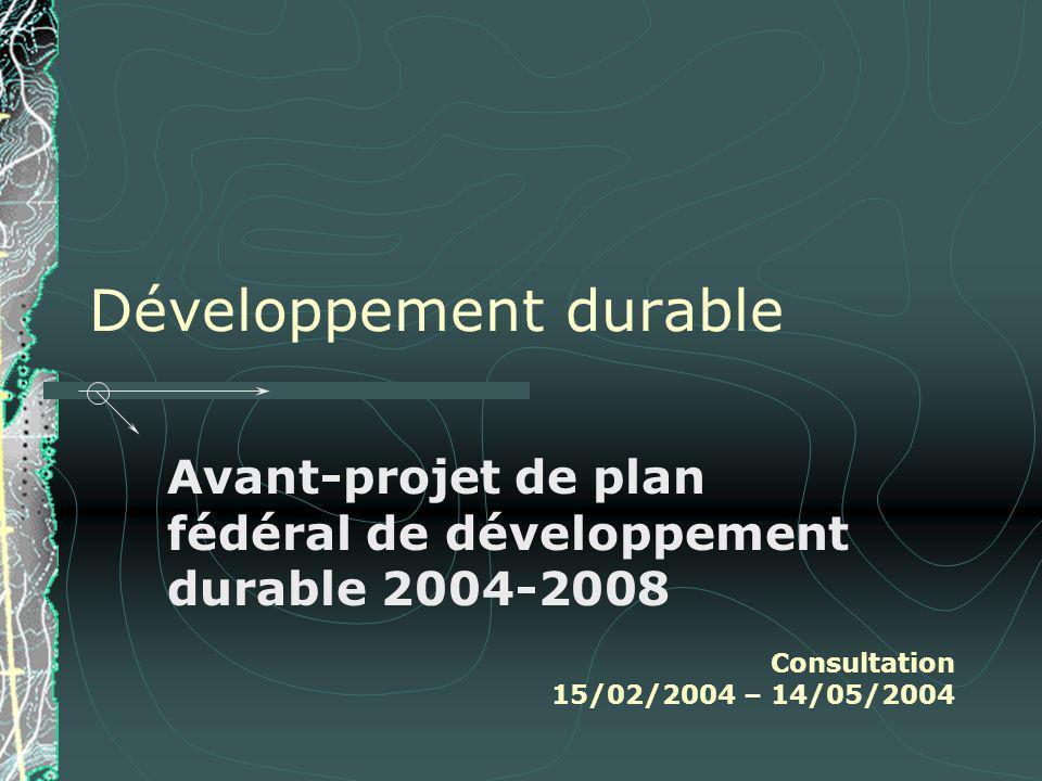Quest-ce quune politique de développement durable .