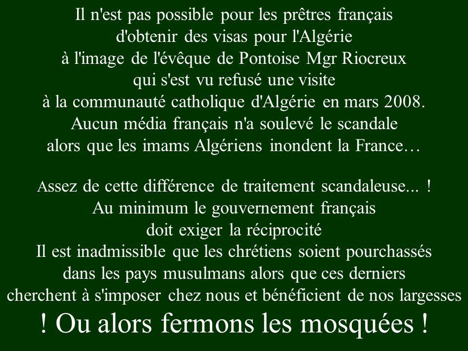 Le Ministre Algérien des affaires religieuses (islamiques) Bouabdellah Ghlamallaha a affirmé à la presse lexpression : « J'assimile l'évangélisation a