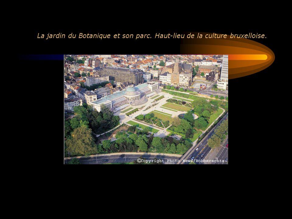 La jardin du Botanique et son parc. Haut-lieu de la culture bruxelloise.