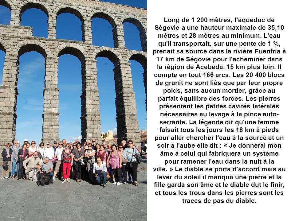 Alcazar et aqueduc romain