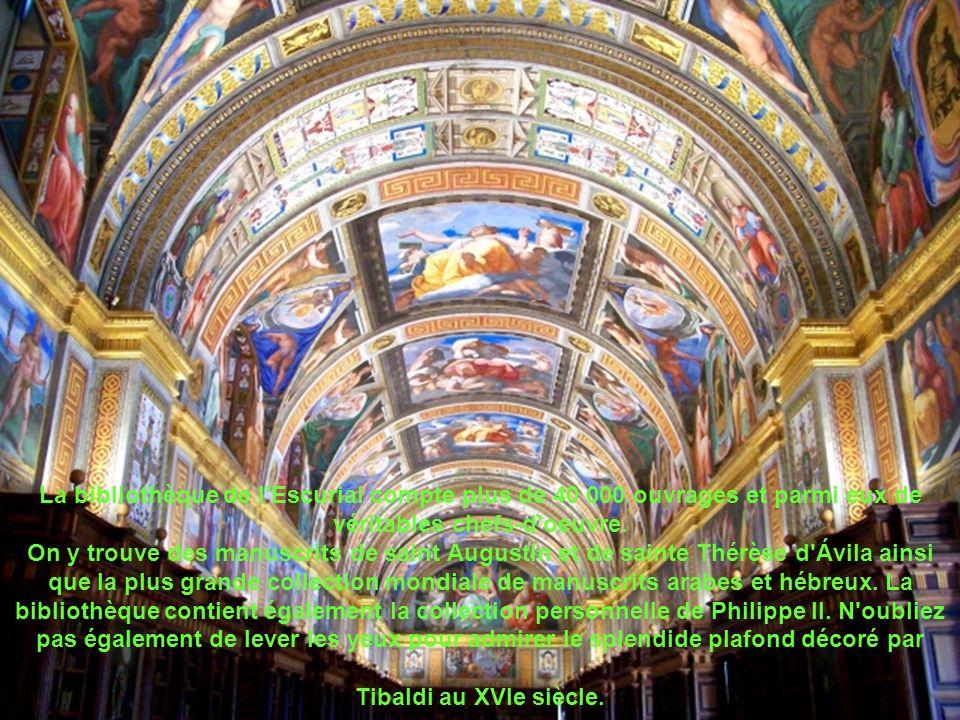 Construit à la fin du XVIe siècle sur un plan reproduisant la forme d un gril, instrument du martyre de saint Laurent, le monastère de l Escurial s élève dans un site de Castille d une exceptionnelle beauté.