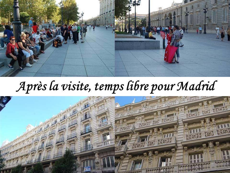 Visite du Palais Royal de Madrid (Pas de photos autorisées à lintérieur)