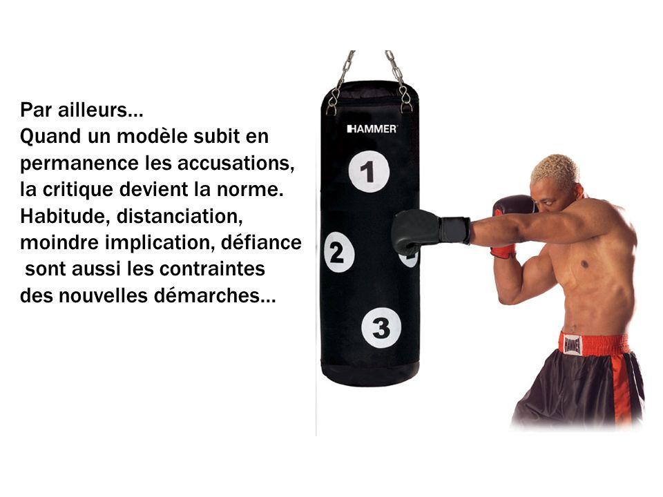 Par ailleurs… Quand un modèle subit en permanence les accusations, la critique devient la norme.