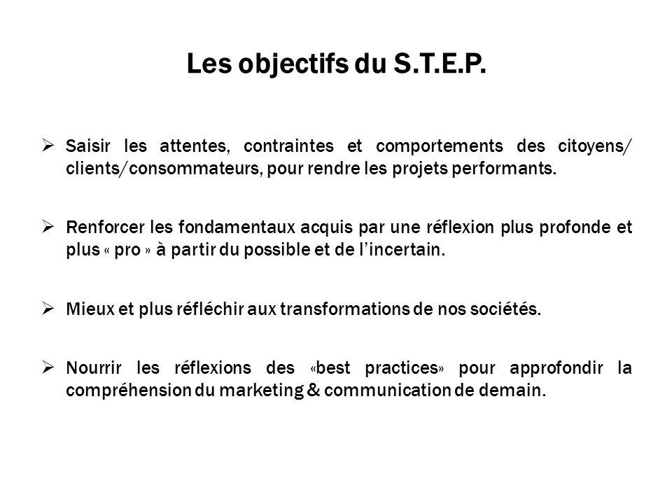 Les objectifs du S.T.E.P.