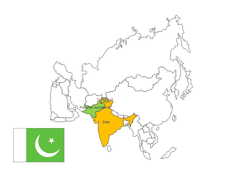 Inde Pakistan occidental Pakistan oriental